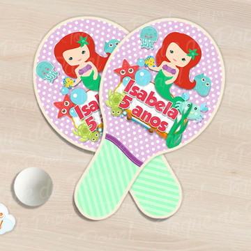 Raquete de ping pong Ariel cute
