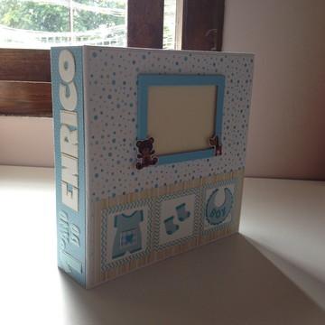Álbum diário do bebê menino