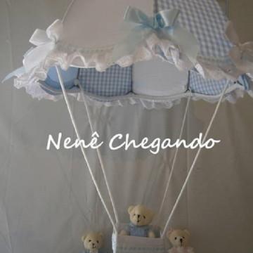 Lustre paraquedas Infantil - Lavável !!!