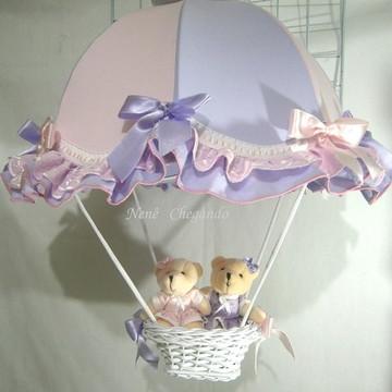 Lustre paraquedas gêmeas LAVÁVEL