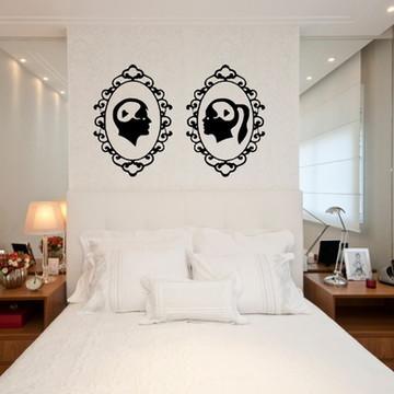 Adesivo lugar casal na cama