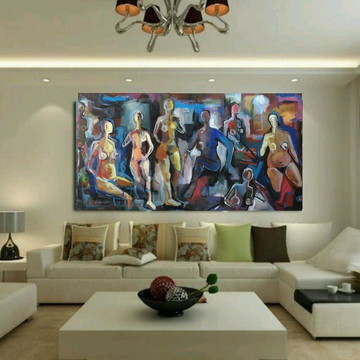 Quadro arte contemporânea