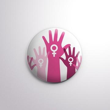 Botton - Girl Power