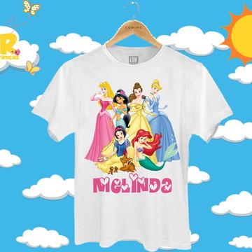 Blusa Personalizada Princesas