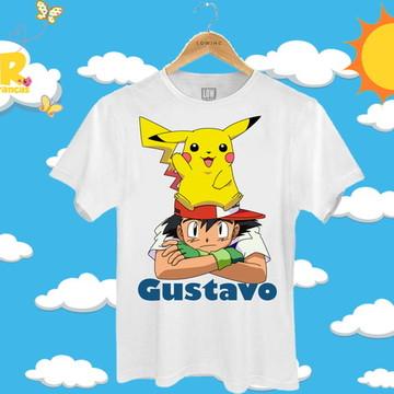 Blusa Personalizada Pokemón