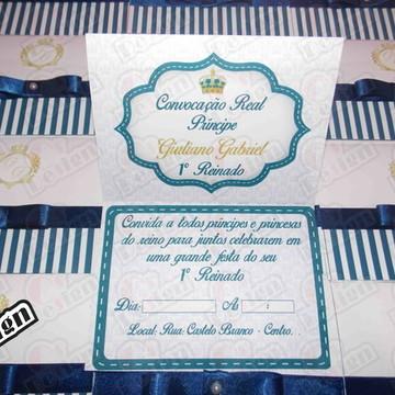 Convite Reinado Príncipe