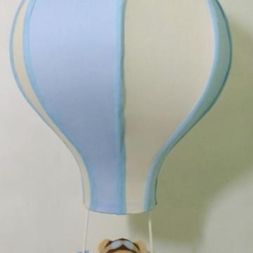 lustre paraquedas pendente infantil aviador