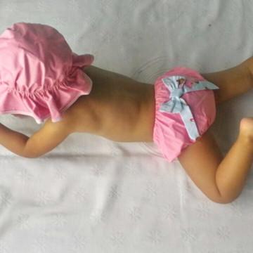 Biquíni Bebê Kit Praia