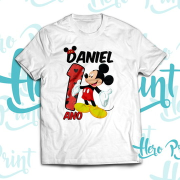 Camiseta Aniversario Mickey
