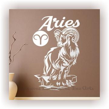 Adesivo Decorativo Signos Z Aries