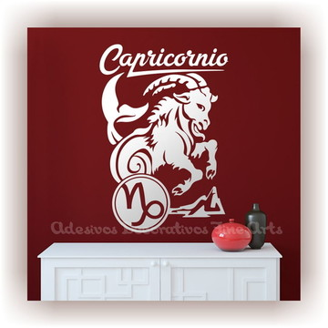 Adesivo Decorativo Signos Z Capricórnio