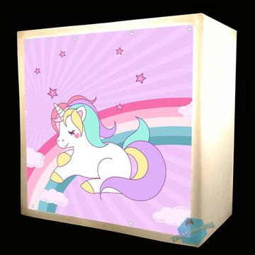Luminária Abarjur Unicornio