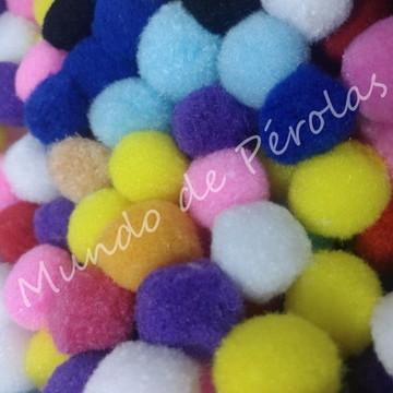 Pompom Colorido 25mm