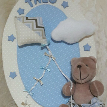 Porta maternidade ursinho sapeca