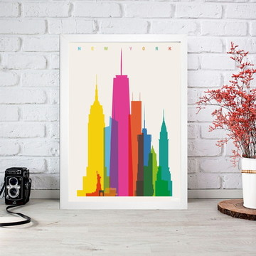 Quadro Digital New York