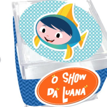 Caixinha acrílico - Show da Luna