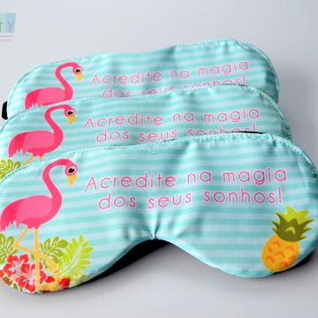 Máscara de dormir Flamingos