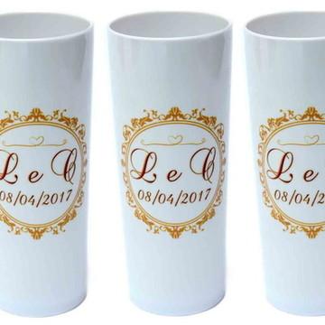 Copo Long Drink para casamento - Brinde Casamento