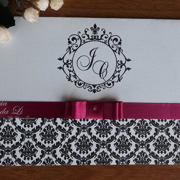 Convite 15 Anos /Casamento/Pink