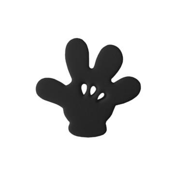 Enfeite de antena Luvas Preta Mickey mouse