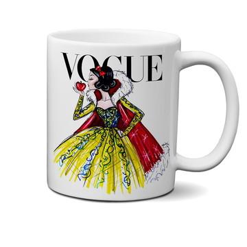 Caneca Vogue Princesas Disney Branca de Neve