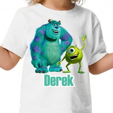 Camisa personalizada Monstros S.A
