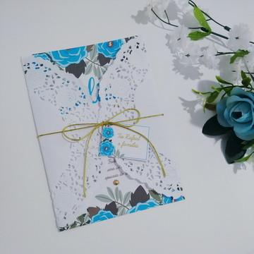 Convite Casamento / 15 anos - Padrão 47