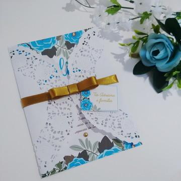 Convite Casamento / 15 anos - Modelo 47