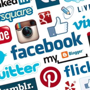 Painel Festa Rede Social 150x100M