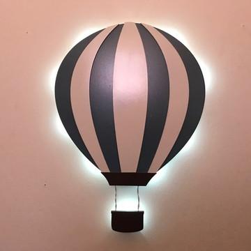 Luminária Decorativa Balão Quarto Bebe Crianças
