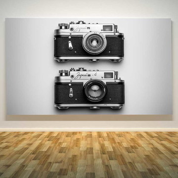 Painel adesivo camera fotografica