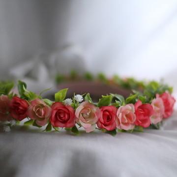 Coroa de flores Linda Liz
