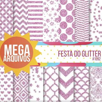 #1092 - Kit Papel Digital -Festa do Glitter