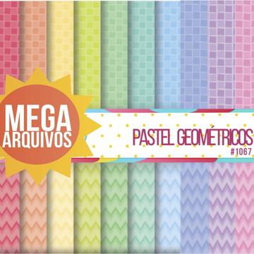 #1067 - Kit Papel Digital - Geométricos