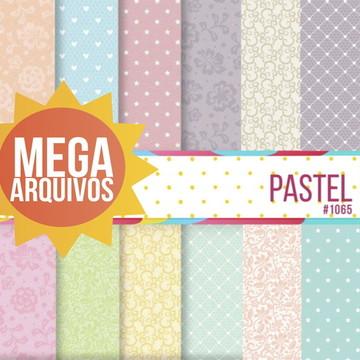 #1065- Kit Papel Digital - Pastel