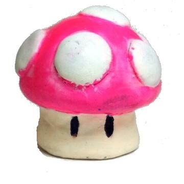 Cogumelo Mario Bros Rosa
