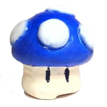 Cogumelo Mario Bros Azul