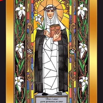 Quadro Imagens Sacras Católicas - Santa Catarina De Sena