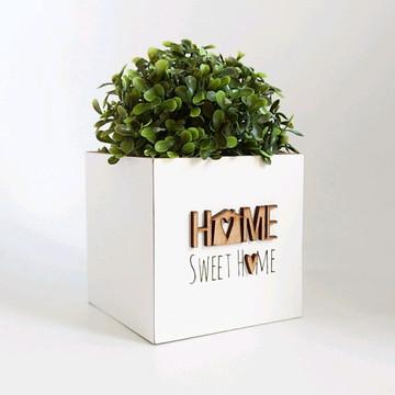 Cachepô Momento Casa Home Sweet Home