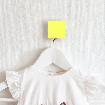 4 Gancho de parede Quadrado Quarto Bebê