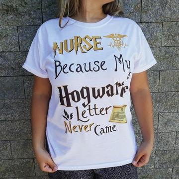 Camiseta profissão - hogwarts