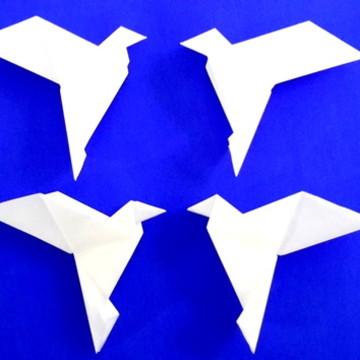 Pomba da Paz origami