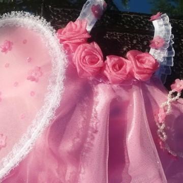 Fantasia Fadinha Rosa