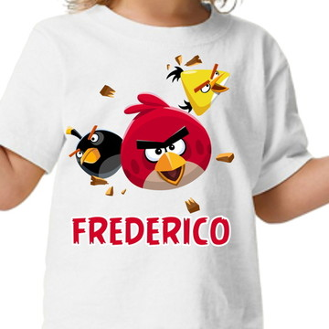 Camisa personalizada Angry Birds 2
