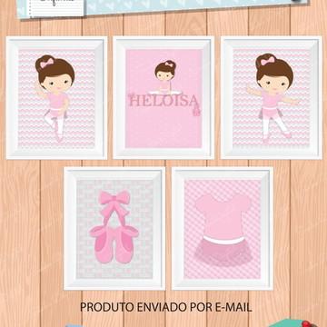 Quadrinhos Infantis Digitais Bailarina 2