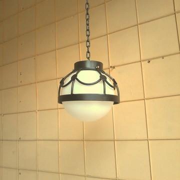 Luminaria rustica pendente