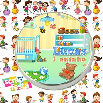Latinhas Personalizadas Festa Brinquedos