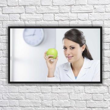 Quadro Decorativo Nutricionista Nutrição Com Moldura 10