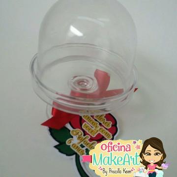Mini cúpula para doce