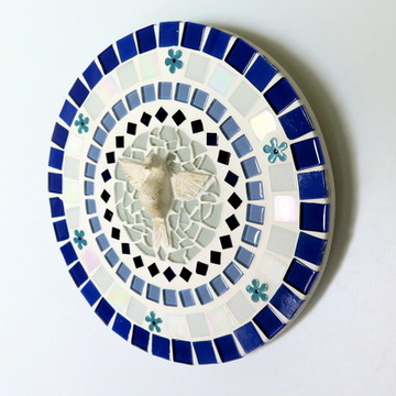 Mandala Divino Espírito Santo azul 20